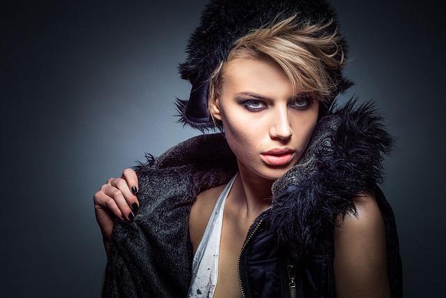 mladá modelka