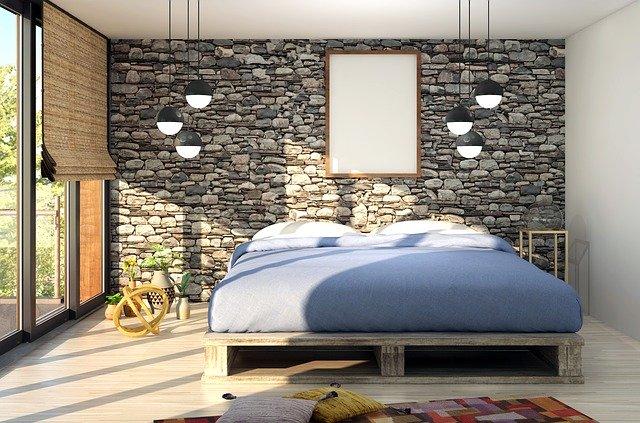 Manželská posteľ s vysokým  matracom
